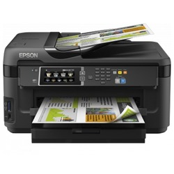 Epson WorkForce WF-7610DWF с СНПЧ